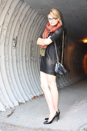 glasses  high heels  kerryberkowitz  Flickr