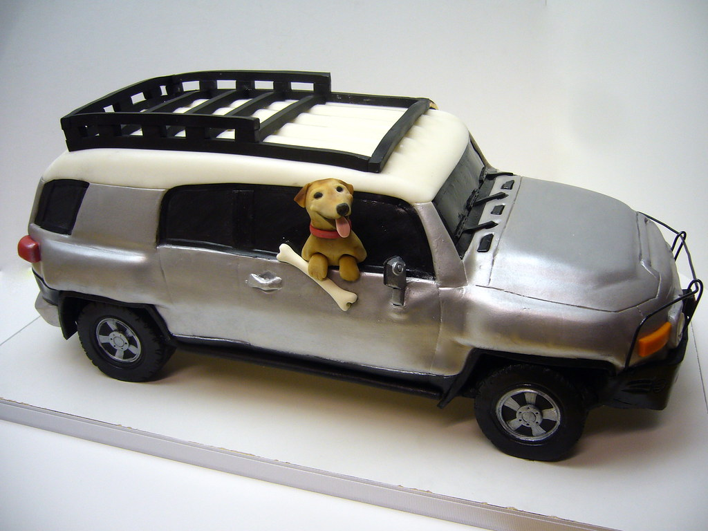 Toyota Fj Cruiser Cake A Surprise Birthday Cake For A