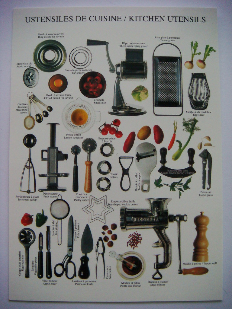 kitchen picture slim storage ustensiles de cuisine/kitchen utensils | shintapostcard ...