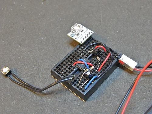 Switch Debounce Using 555 Ic