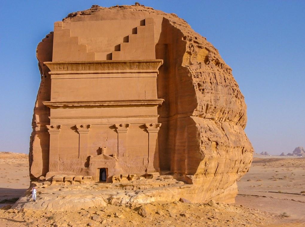 Tomb of Nabatean King Madain Saleh UNESCO Saudi Arabian nähtävyydet