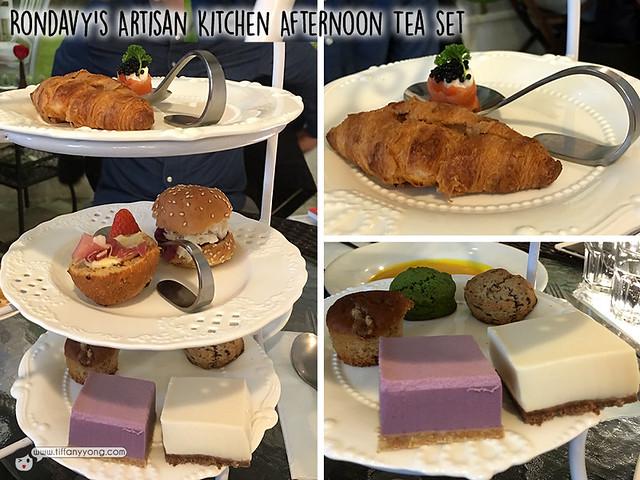 Rondavys artisan kitchen afternoon tea set