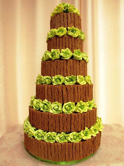 Chocolate Flake Wedding Cake Chocolate Flake Wedding
