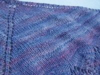 Traveling woman shawl | Traveling woman shawl knit with my ...