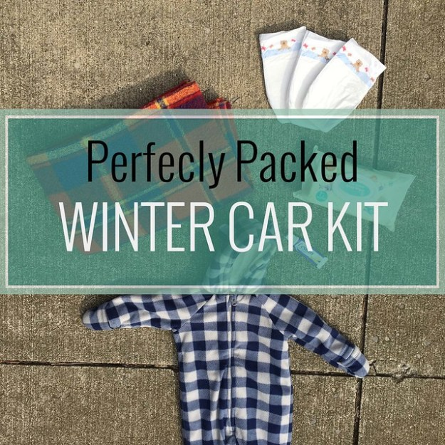 Perfectly Pack Emergency Winter Car Kit