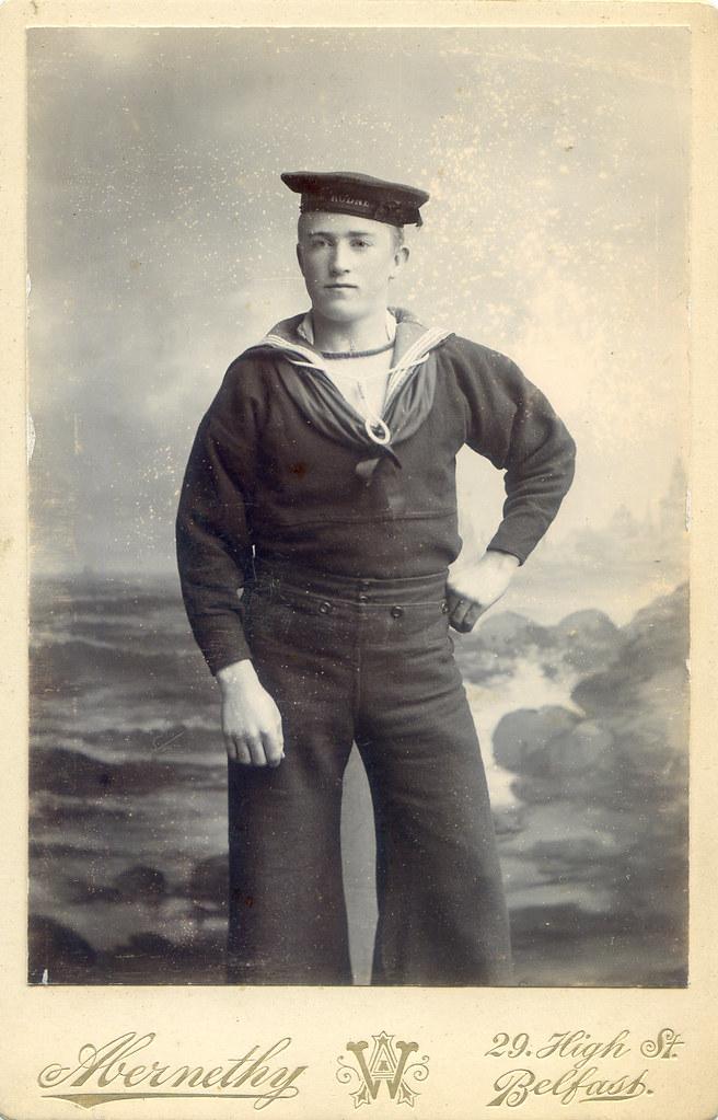 Cabinet Card HMS Rodney Sailor Sarah Flickr