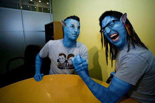 Jake And Amiri Avatar Photoshop Wutso F Txon Www