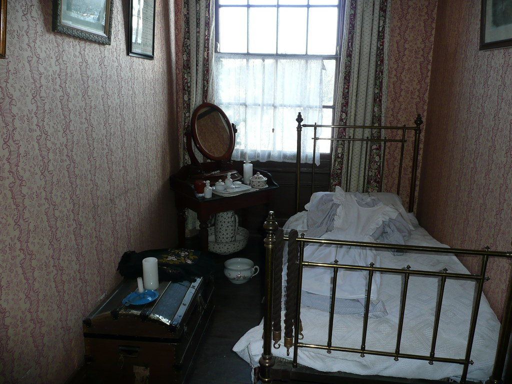 Victorian Housemaids Bedroom  Simply furnished and compact  Flickr