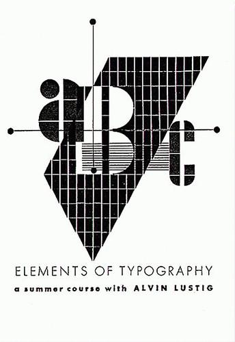 Typography Manual, Art Teacher's Association of LA, 1941