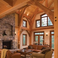 Ideas For The Living Room Interior Designs With Brown Furniture Timber Treasure Frame Home - Great | Elegant ...