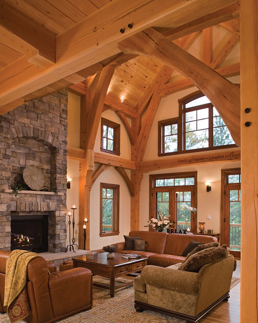 kitchen windows trash can pull out timber treasure frame home - great room | elegant ...