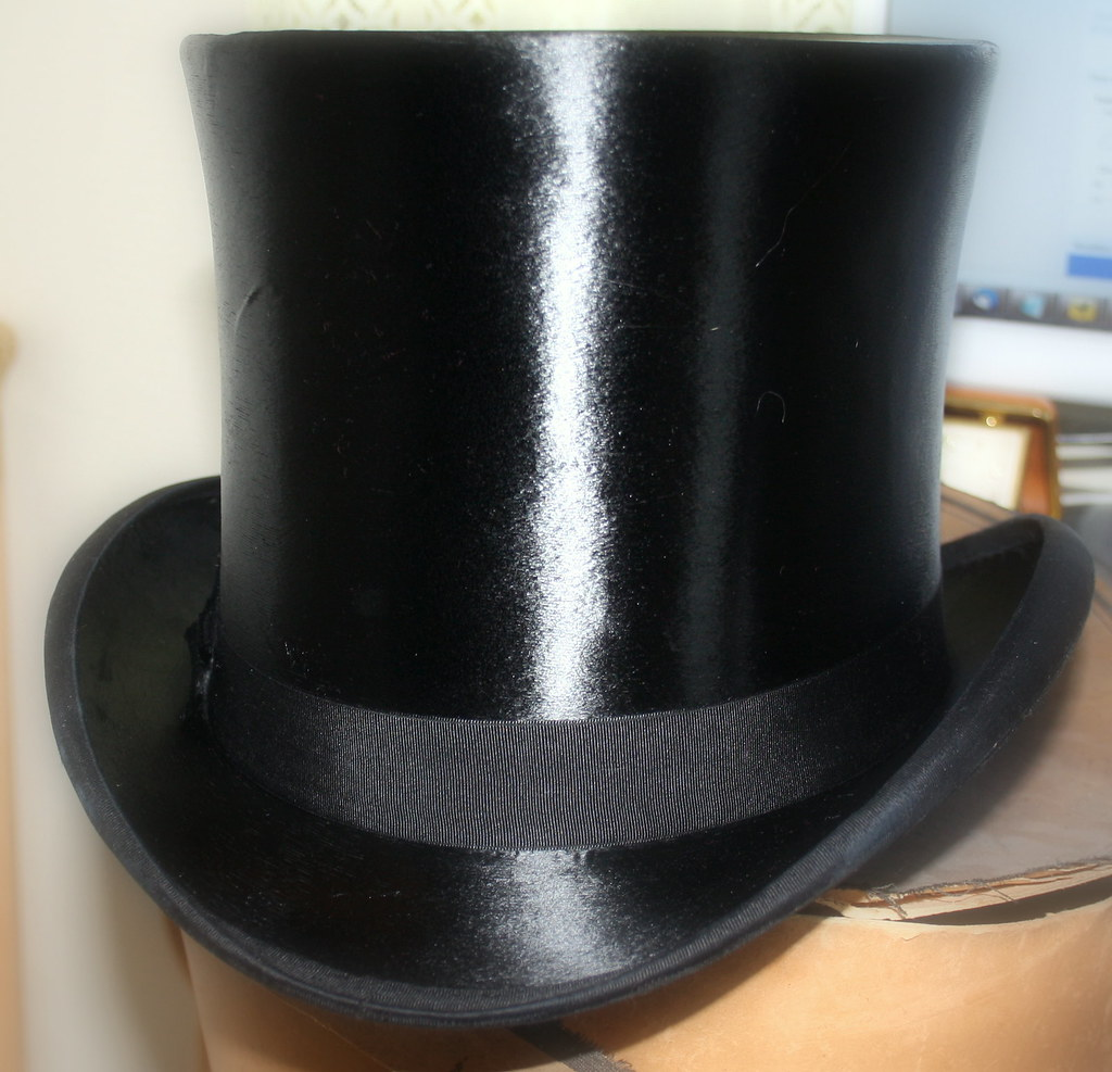 Polished Top Hat  My top hat now that its been water