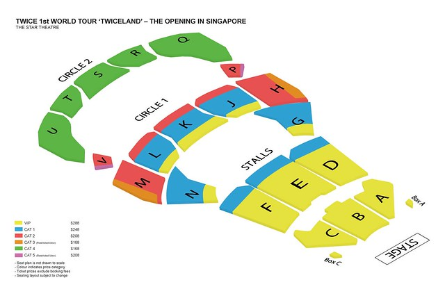TWICELAND - The Opening – in Singapore Seating Plan