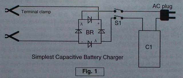 How To Build Car Battery 6v Or 12v Charger