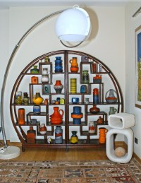 New entry:60's Italian floor lamp and new vases ...