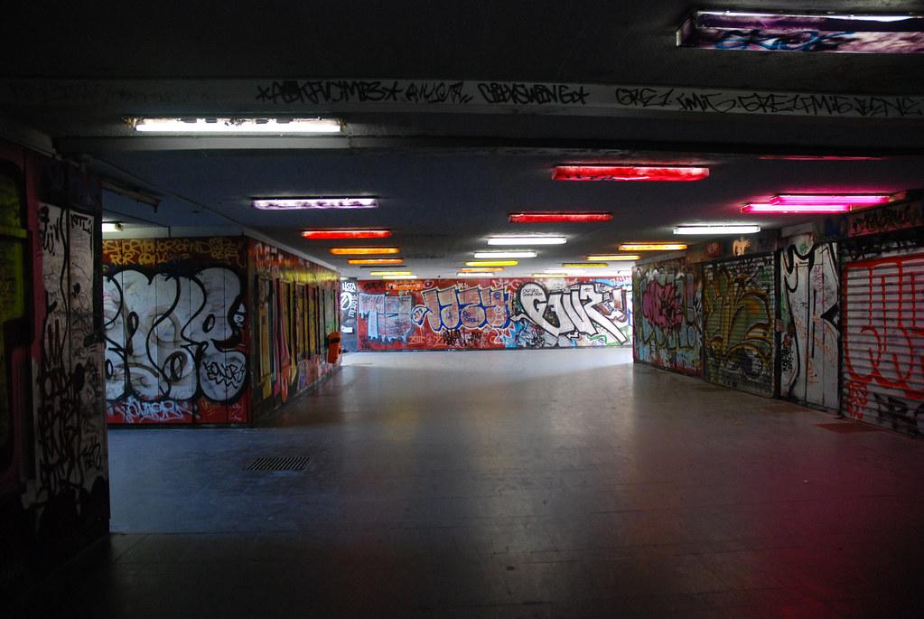 Budapest  Graffiti Underground  jaszai marti tr