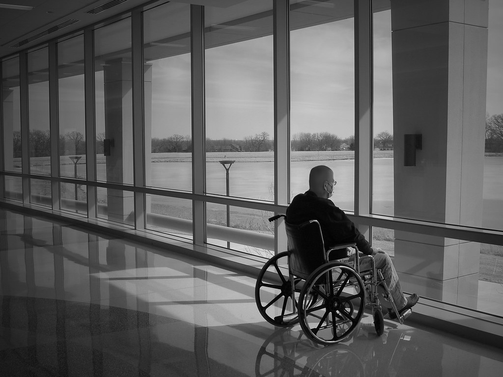 Wheel Chair  Concentration 9 Journey of a Cancer Patient
