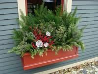 Winter Windowbox in Andersonville | Topiarius - Urban ...