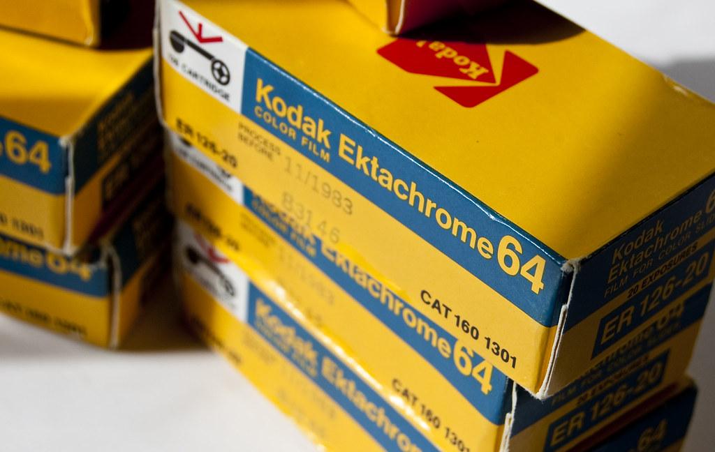Kodak Ektachrome 64   That's right - 10 boxes of Ektachrome …   Flickr