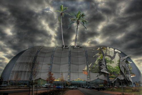 Tropical Islands  grte freitragende Halle der Welt