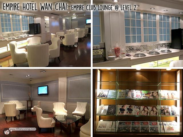 Empire Hotel Wan Chai Club lounge