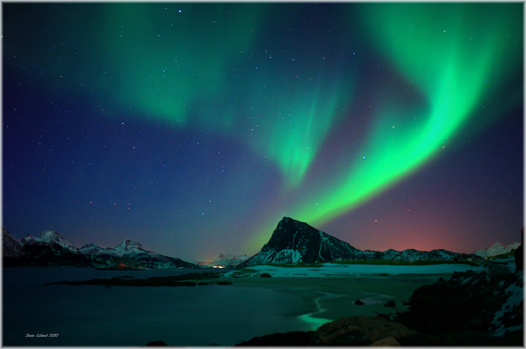 Light Effect Hd Wallpaper Country Of Elves Aurora B The Aurora Borealis Or