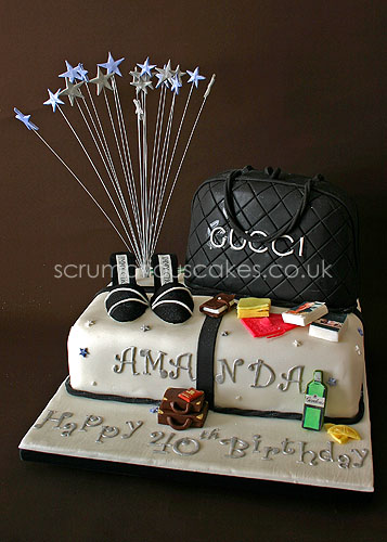 Birthday Cake 596 Gucci Bag & Jimmy Choo Shoes Flickr