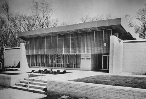 East Lansing Public Library 1963 Manson Jackson  Kane