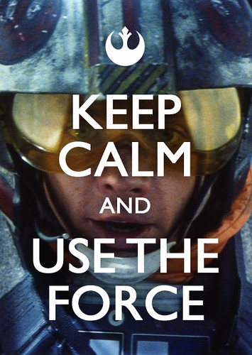 Keep Calm And Be Jedi