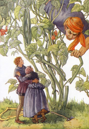 Illustration By Margaret Tarrant Jack The Giant Killer