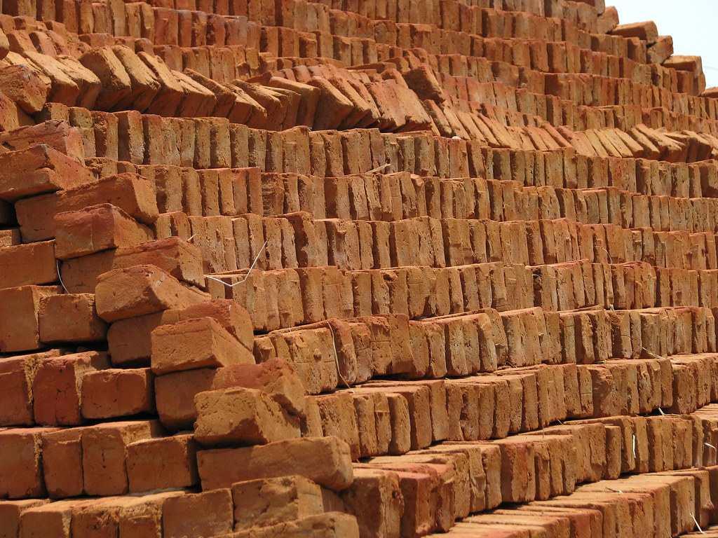 3d Wallpaper For House Walls India India Sights Amp Culture Rural Brick Making Kiln 03 Flickr