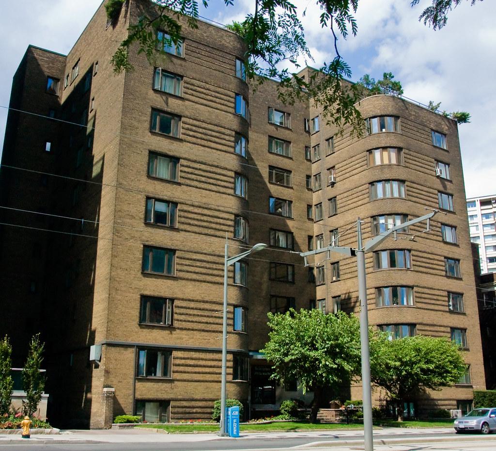 Glenn Goulds Toronto 110 St Clair Ave West  Art Deco