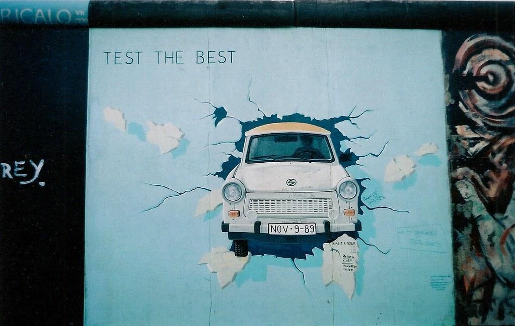 Test the Best by Birgit Kinder Berlin Wall Berlin  Flickr