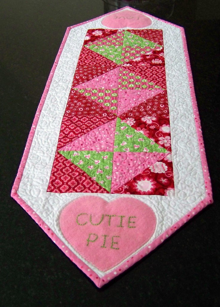 Valentine Runners 3 Made From Deb Strains Sent With