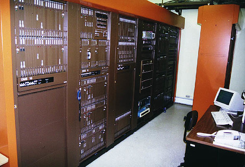 Nortel DMS Switch  This is think is a DMS10  Kenneth Martin  Flickr