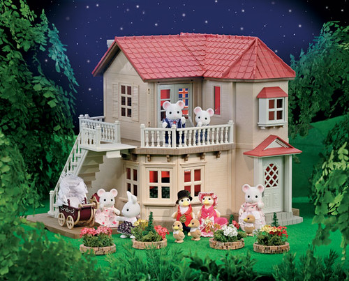 Sylvanian Families City House w Lights  This was the
