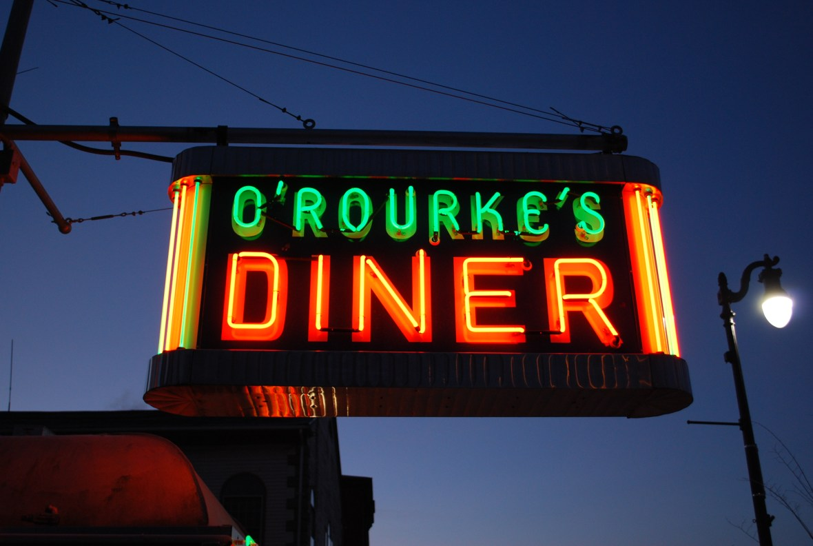 O'Rourke's Diner - 728 Main Street, Middletown, Connecticut U.S.A. - February 2, 2010