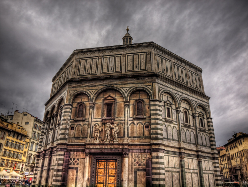The Baptistery in Florence Cathedral  The Florence Duomo