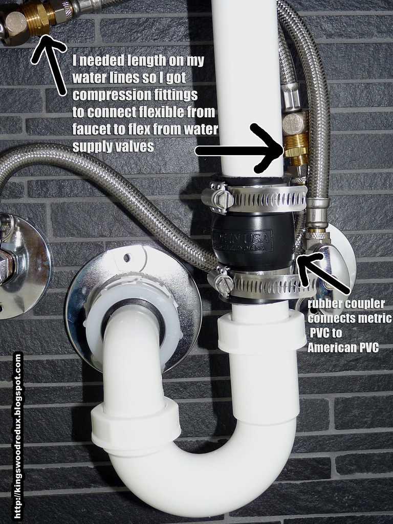 IKEA sink plumbing hack  Here are two issues I ran into