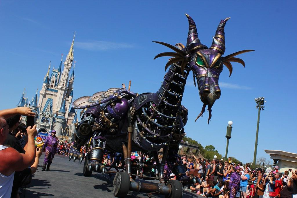 Festival Of Fantasy Parade Debut At Walt Disney World Flickr