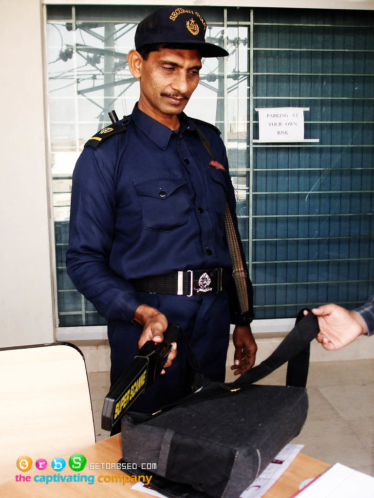 Security guard at Virtual University Multan Campus  Flickr