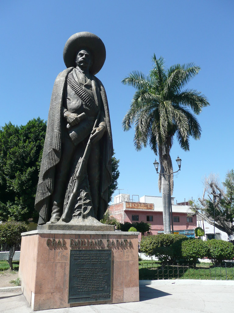 Statue of Emiliano Zapata Cuautla  Whats left of Zapata i  Flickr