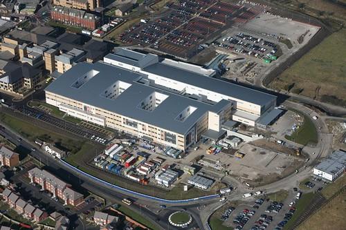Royal Blackburn Hospital  Over 110 million has been