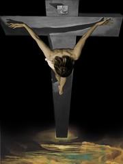 La Cristo de Dalí (recorte)