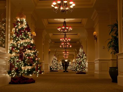 Christmas Trees The Ritz Carlton Golf Resort Naples Fl