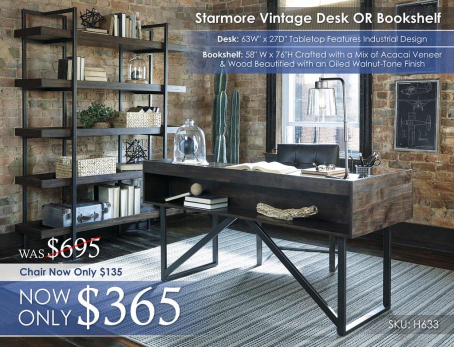 Starmore Vintage Desk H633-27-02A-70-R40115-ALT