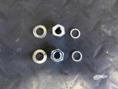 Fork Lower to Damper Rod Mounting Hardware