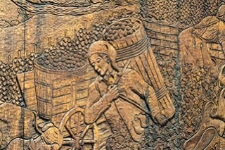 Weinfass, Detail