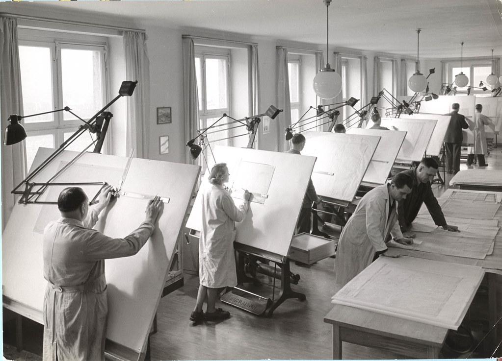 1951 Paul Damm F89 Meisterklasse factory 66609 Engineerin