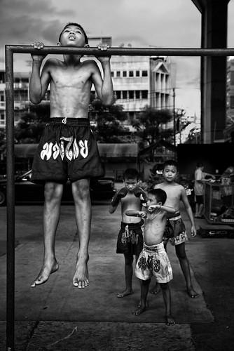 Ongoing Project  Honour Muay Thai kids  Bangkok Thail